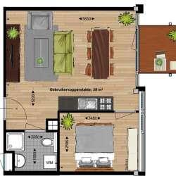 Appartement - huren - Wattbaan Nieuwegein