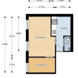 Appartement - huren - Van Marumstraat Den Haag