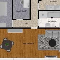 Appartement - huren - Kerkstraat Brunssum