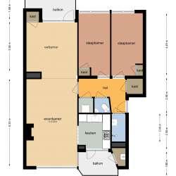 Appartement - huren - Park de Kotten Enschede