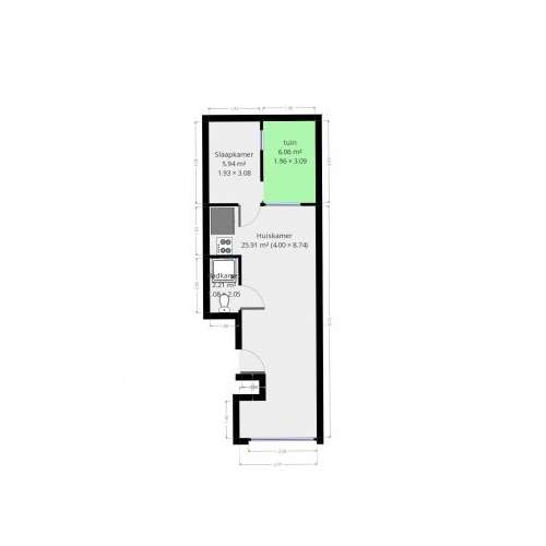 Foto #15007eb8-25ca-4e27-9750-4a5547249f32 Appartement Sieboldstraat Leiden