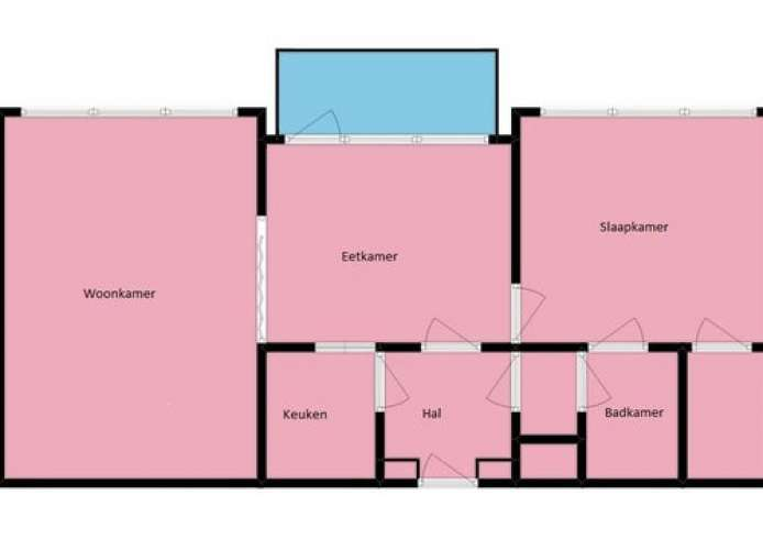 Foto #c7e8cb86-95f8-4ebb-8e97-6f8b49ac1d1f Appartement Bachstraat Leiden