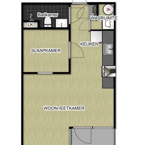 Foto #836d1eea-32d2-4f2c-8d30-e933106cb0b8 Appartement Lage Nieuwstraat Den Haag