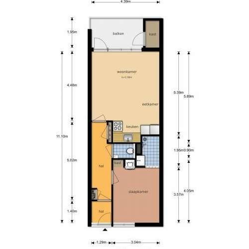 Foto #d81845cd-f268-484d-8f3c-6b5920db3711 Appartement Geessinkweg Enschede