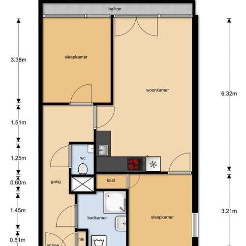 Foto #bb3df745-7d93-4eb9-b534-a1df4ca4db0b Appartement Robijnstraat Ede