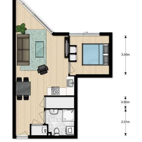 Foto #2817c6d8-af27-41c5-8e41-4734f92030ef Appartement Engelandlaan Zoetermeer