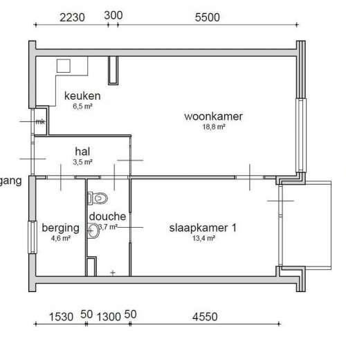 Foto #e24bc1d7-caed-444e-91b7-2a27978aa660 Appartement Gerbrandijlaan Middelburg
