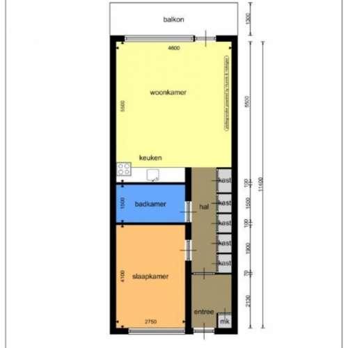 Foto #f516ecbf-d845-4fe6-8f57-9a6f15da3968 Appartement Eksterweg Apeldoorn